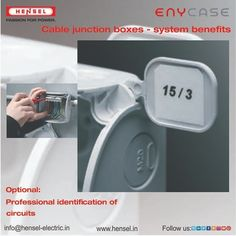 Optional: Professional identification of circuits. Junction Boxes, Circuits, Cable, Cabo, Cords, Electrical Cable, Cord