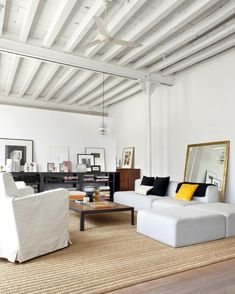 Modern & Industrial White Loft in Barcelona | Trendland: Fashion Blog & Trend Magazine