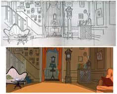 Academy of Art Animation Notes: Setting the Scene : The Art and Evolution of Animation Layout