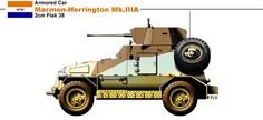 Military Weapons, Military Art, Military History, Armored Car, Armored Vehicles, Ww1 Tanks, Afrika Korps, Tank Design, Military Equipment