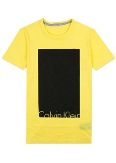 Tano Box S/S T-Shirt in Blazing Yellow