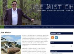 Joe Mistich, Personal Branding Website