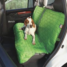 Loft Dog Car Seat Cover - Bench Style , Reversible