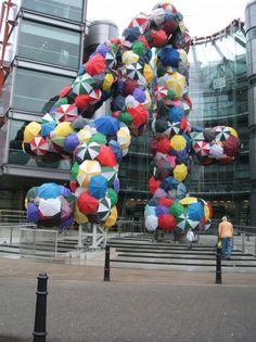 23 Incredible Umbrella Art Installations. This on is in London =)