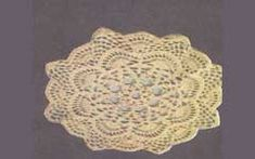 A crochet doily pattern made in rounds usually is pretty intricate. Sometimes it is not easy to describe it in words. The graphic charts allow you to visualize better what you do.
