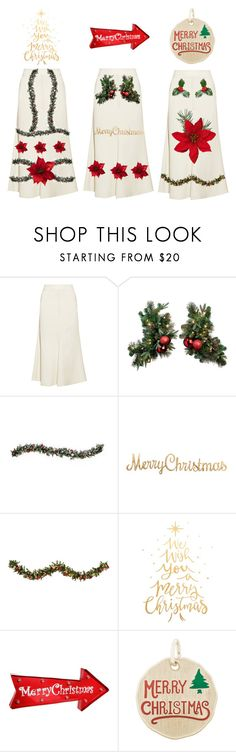 """""""Christmas skirts ideas"""" by melange-style ❤ liked on Polyvore featuring Beaufille, Improvements, Holiday Lane, Christmas, skirt, ideas, fashionset and festive"""