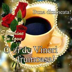 Imagini buni dimineata si o zi frumoasa pentru tine! - BunaDimineataImagini.ro Mugs, Christmas Ornaments, Holiday Decor, Tableware, Good Morning, Dinnerware, Tumblers, Christmas Jewelry, Tablewares