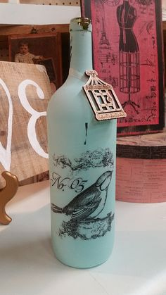 Hey, I found this really awesome Etsy listing at https://www.etsy.com/listing/262898082/painted-bottle-decorative-bottles