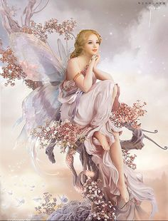 Pink Fairy - My Enchantments Fairy Pictures, Angel Pictures, Beautiful Fantasy Art, Beautiful Fairies, Fantasy Paintings, Fantasy Artwork, Fantasy Women, Fantasy Girl, Fantasy Creatures