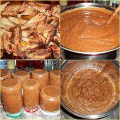 Hrušková povidla z pečených hrušek - bez cukru !! Home Canning, Healthy Deserts, Pretzel Bites, Sweet Recipes, Jelly, Kimchi, Food To Make, Spices, Smoothie