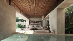 A targeted search for your luxury home in the beautiful riviera maya, the best places to live in Quintana Roo, México. Seaside Apartment, African House, Casa Cook, Tulum Hotels, Luxury Property For Sale, Garden Design Plans, House Front Design, Villas, Resort Villa