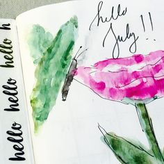"350 Likes, 14 Comments - Peggy (@journallove) on Instagram: ""Hello July! Hello sunshine and beaches. Hello biking and long walks. Hello cookouts and family.…"""