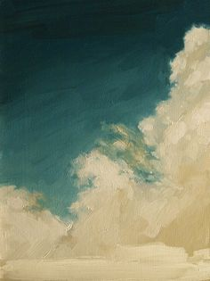 Rising Clouds Giclee art print of original oil by kaisamuelsdavis