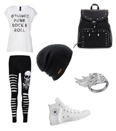 """Untitled #21"" by piper-staunton on Polyvore featuring Converse, AS29 and Coal"