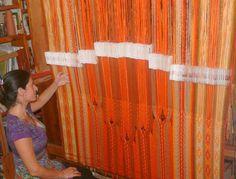 Card weaving!  Weaver: Gonit; Israel. http://nonydt.wix.com/ecoweaving-en#!tablet-weaving/c1vvh
