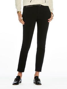 Pantalones entallados clásicos