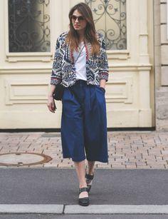 Luftige Beinfreiheit mit der Wide-Leg #Culotte von BLACK MOJITO - Schicke, bequeme Kleidung mit anspruchsvollen und würzigen Flair direkt aus #Paris