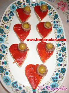 Aperitivos para San Valentín