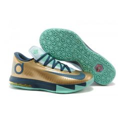 Kevin Durant Kd 6 Metallic Gold Silver