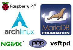 [라즈베리파이] 아치리눅스에 웹 서버 설치 (ArchLinux + Nginx + php + MariaDB + vsftpd)