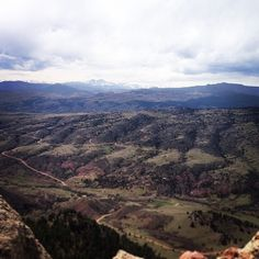 """Warner College advice of the day: Enjoy the view and appreciate the city you live in! """"The mountains are calling and I must go."""""""