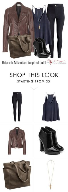 Rebekah Mikaelson inspired outfit/to by tvdsarahmichele on Polyvore featuring H&M, Balenciaga, Giuseppe Zanotti and Forever 21