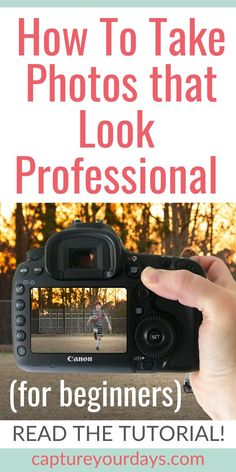 Ready to take better pictures? This great photography lesson is for the photography beginner. Loads of DSLR for beginners tips! Want to understand your DSLR settings? These digital photography tips will get to started on the path to amazing photography.