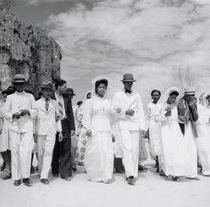 Casamento Coletivo, de Marcel Gautherot, Bom Jesus da Lapa (BA), c. 1941 (Foto: Marcel Gautherot)