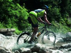 mountainbike trails ...