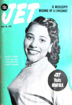 Jet Visits Norfolk, Virginia - Jet Magazine May 26, 1955