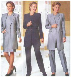 Butterick  5789 Jessica Howard Misses Jacket Skirt Pants Top Size 8 10 12 Uncut