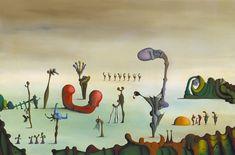 The Arena by Desmond Morris, Oil on canvas, 61 x Tate Gallery, London, England. Birmingham Museum, Birmingham University, Francis Picabia, 70s Sci Fi Art, Morris, Art Database, Art Uk, City Art, Surreal Art