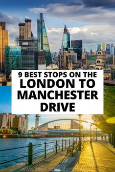 Looking for the perfect English road trip? You can't go wrong with driving from London to Manchester! This drive takes you through charming villages, beautiful countryside and thriving cities allowing for the perfect bucket list trip to England! London To Manchester, Nottingham Castle, Day Trips From London, Perfect English, Natural Scenery, Ireland Travel, Birmingham, Liverpool, Countryside