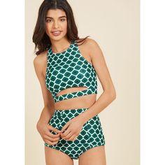 Parasail Away With Me Swimsuit Top ($55) ❤ liked on Polyvore featuring swimwear, bikinis, bikini tops, foundation, two piece separate, two piece top, varies, 2 piece bikini, cut out bikini and sporty bikinis
