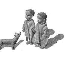 Black & White Fine Art Print of Book Illustration by AlenkaSottler