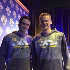 """""""Some good-looking All Stars! #LetsGoDucks #NHLAllStar"""""""