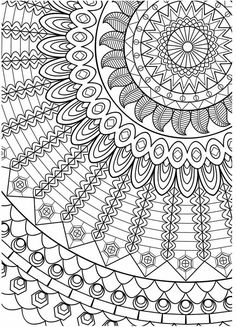 Adult Coloring (Doodles) on Behance Stress Coloring Book, Adult Coloring Book Pages, Printable Adult Coloring Pages, Cute Coloring Pages, Doodle Coloring, Flower Coloring Pages, Mandala Coloring Pages, Coloring Pages To Print, Coloring Sheets