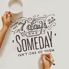 hand lettering - the daily smudge