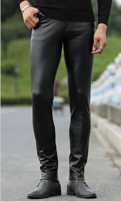 #Men #Fashionable #Young #Tight #Genuine #Black #Leather #Pants #fashion #style #OOTD Mens Leather Pants, Tights, Ootd, Shorts, Character, Style, Fashion, Leather Pants, Men