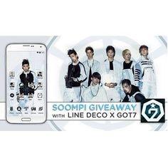 [Exclusive] Download GOT7 Mobile Theme + Win Autographed Album! | Soompi Got7, Music Videos, Album, Card Book