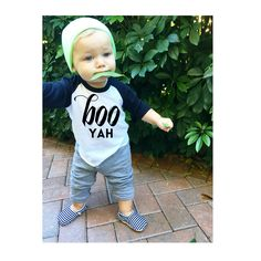 Boo yah Halloween shirt  https://www.etsy.com/shop/LittleBeansCo