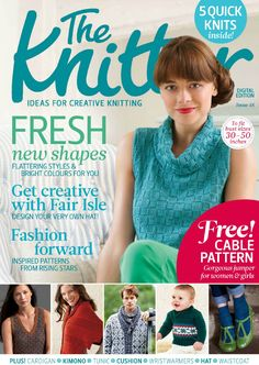 THE KNITTER #knitting pages 1 of 81