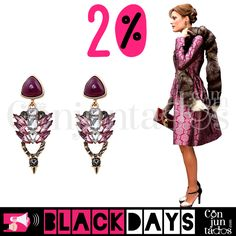 Pendientes de cristales Leire en lila y gris ★  ̶1̶1̶'̶9̶5̶ € -20% ★ Cómpralos en https://www.conjuntados.com/es/pendientes/pendientes-largos/pendientes-de-cristales-leire-en-rosa-y-gris.html ★ #pendientes #earrings #conjuntados #conjuntada #joyitas #lowcost #jewelry #bisutería #bijoux #accesorios #complementos #moda #eventos #bodas #invitadaperfecta #perfectguest #fashion #fashionadicct #fashionblogger #outfit #estilo #style #streetstyle #GustosParaTodas #ParaTodosLosGustos
