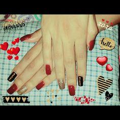 Mis nuevas favoritas 💅😍❤💖 #nails #fabulous