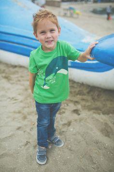S A L E Alphabet Whale Tale Tee Kids by PrintedPalette on Etsy, $22.00