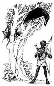 "Carter, Dorothy Sharp, ""Greedy  Mariani"", New York, Atheneum,  1974. illustration by Trina schart Hyman"