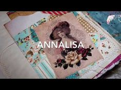 Annalisa: A shabby chic junk journal flip through Junk Journal, Ferns, Feathers, Shabby Chic, Make It Yourself, Youtube, Scrapbooking, Feather, Youtubers