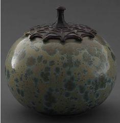 Adelaide Alsop Robineau, Jar with Cover, 1919. Porcelain
