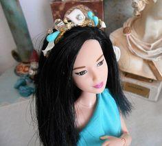 Doll hellenic style headband for Poppy Parker Silkstone