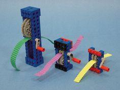 met tandwielen kan je een ribbelmachine maken